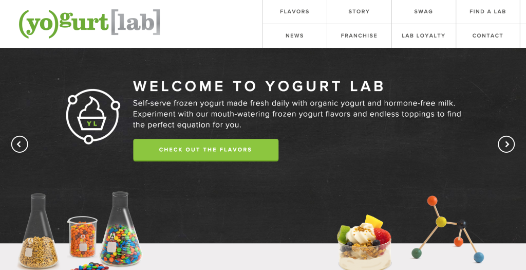 Yogurt Lab Frozen Yogurt Shops Self Serve Frozen Yogurt