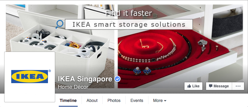 ikea singapore facebook page