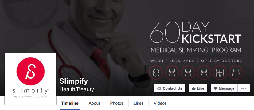 slimpify facebook page