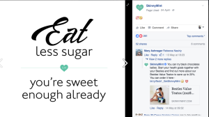 likeable facebook post